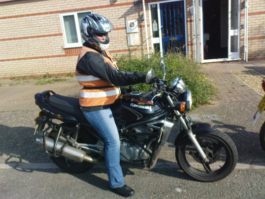 Jess completes her CBT with CamRiders