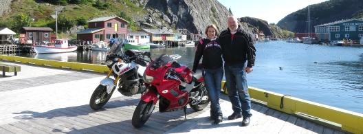 Jess & I at Quidi Vidi, St.John's, Newfoundland.