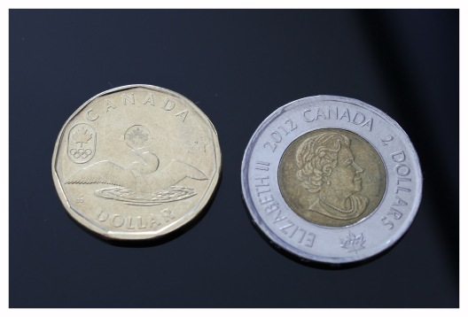 A Loonie and a Toonie